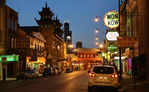 Chicago chinatown night 485x300